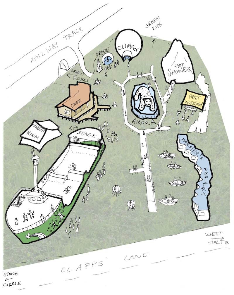 Greenpeace field sketch