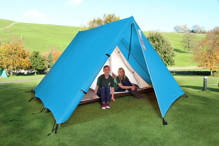 4.6m x 3.3m x 1.9m tall. The sleeping compartment at its shortest is 2.8m x 2m. At its longest is 2.8m x 2.75m. The 4 person model includes a retractable ... : canvas scout tent - memphite.com