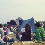 Glastonbury before chairs very invented