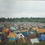 Not yer throw away tents back then, even some canvas !