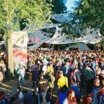 A view of the Glade on Saturday 2003.