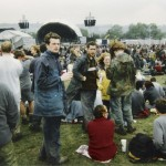 Probably the Sunday... shortly after Van Morrison, if I remember correctly.
