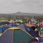 The view of the Tor from our camp site...