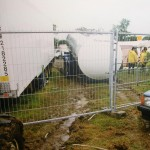 Beer tanker sinking into the mud