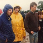 Lightweights in those days! So wet we went home Sat to watch Dynasty