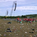 Litter Pickers in the Pyramid Field