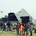 The Pyramid Stage 1983.