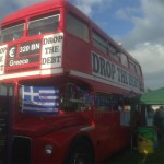 The Drop the Debt Bus