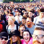 Lost in the crowd @ The Pyramid stage