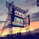 Sunset at Pyramid Stage