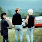 Storm clouds brewing, Glastonbury 1986