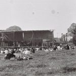 Stage, with Worthy Farmhouse in the background