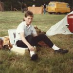 My brother in 1986. A sunny one