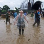 Discovering the different type of Glasto mud!
