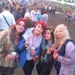 My Daughter (Meg and Pals first glasto) Age 14 (with Mamma Bear of Course)