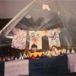 Hippy candle stall