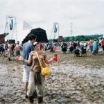 Such a muddy wet year! After the Kaiser Chiefs - Friday afternoon I think?