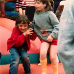 Bronwen and Jenni in the Crèche