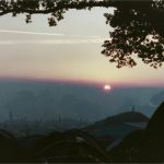 Sunrise from top of pennards 2000