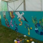 Mural I painted x