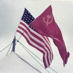 80's Cold War Flags on the tents.